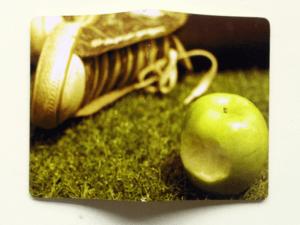 capa caderno maça verde allstar