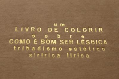 gravação capa um livro de colorir