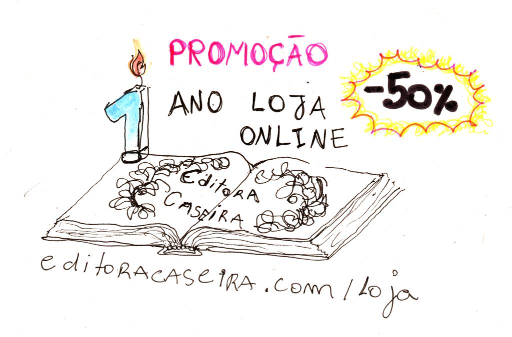 PROMOÇÃO Aniversário 1 ano Loja Online