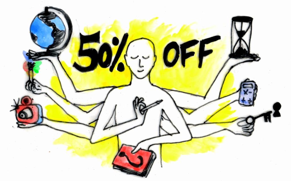 50% OFF para Professor@s e futur@s Professor@s durante o mês de outubro