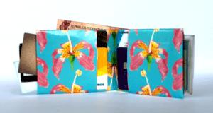 carteira de papel paina cheia