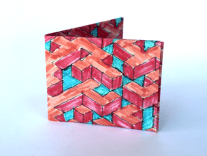 carteira labirinto
